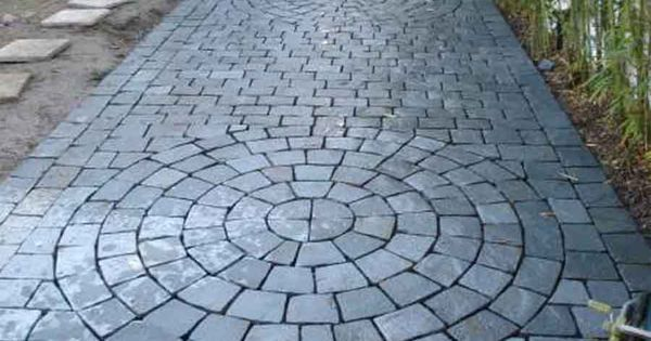 Piedras r f bienvenido adoquines piedra piedras laja for Adoquines para jardin