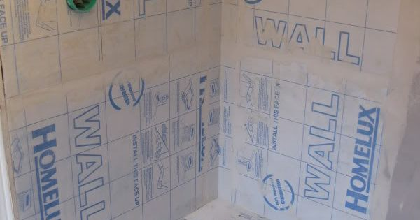 Diy Wet Room Shower Tanking The Walls And Floor With