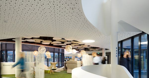 Biophilia biophilic design commercial office easy credit - Evo bank oficinas ...