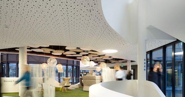 Biophilia biophilic design commercial office easy credit - Evo bank oficinas ...
