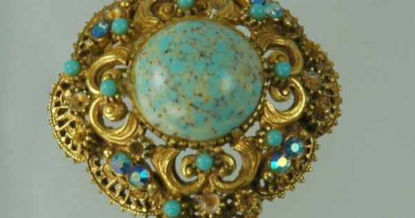 Old Brooches And Pins Value Revival Florenza Antique
