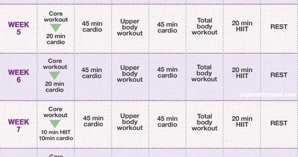 12 Week Weight Loss Program: beginner starting this today! work outs ...