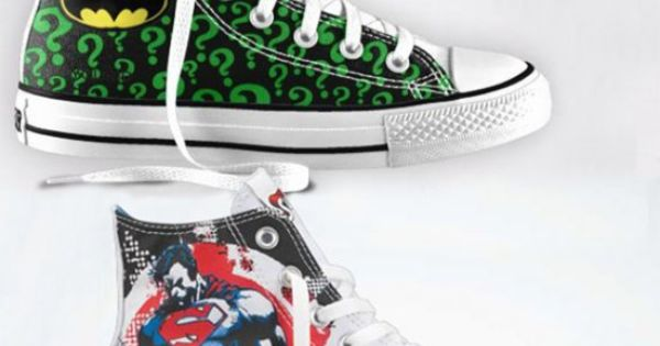 DC Comics Converse Chuck Taylors lets you customize your own superhero sneakers