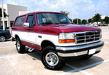 Ford Bronco Wikipedia The Free Encyclopedia Ford Bronco Bronco Car Bronco