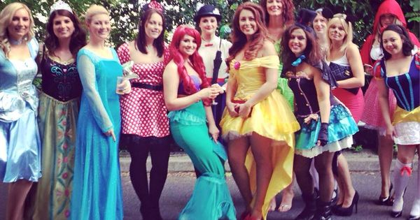 Walt Disney Hen Party Fancy Dress Bachelorette Costumes