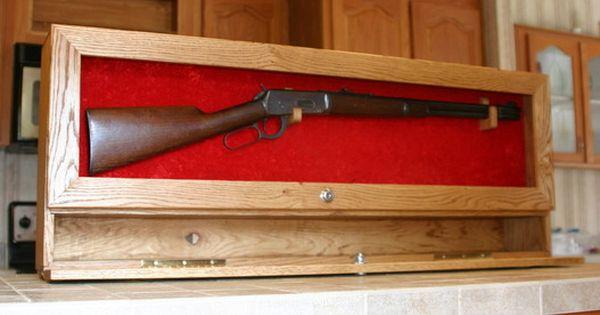 Diy Rifle Display Case Ryobination Man Caves