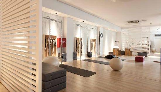Like The Room Dividers Interior Design Pilates Studio Marilena