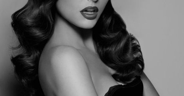 Hair styles: vintage style hair and makeup - SparkRebel