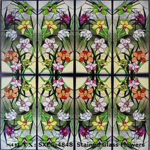 Decorative Window Film Options Stained Glass Window Film