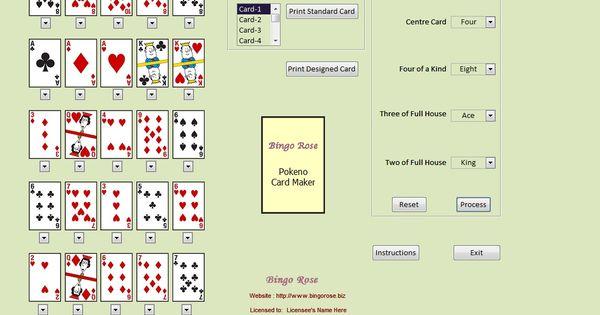 2 card poker hand rankings mnemonic maker