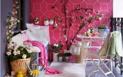 Balkon Japanischer Stil Zen Frühling Blumen | Outdoor | Pinterest ... Balkon Im Fruhling Blumen