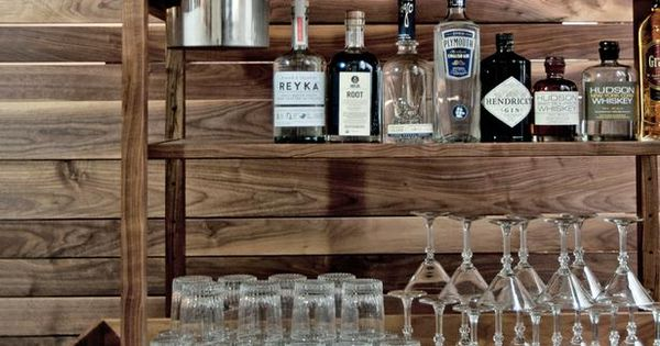 How to style the perfect bar cart vintage bar carts vintage bar and bar carts - Idee deco gezellige lounge ...