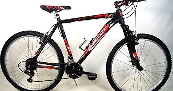 Mtb Bike Mountain Bike Aluminum Evo Cambio Shimano 21v Black