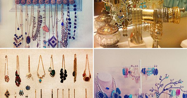 Store Your Jewelry Jewelry Display Idea Organize Kendra