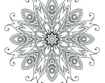 Detailed Doodle Mandala Coloring Books Coloring Books Coloring Pages