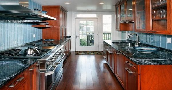 Galley Kitchen With Island Tags Design A Kitchen Kitchen Renovation Ideas Small Kitchen