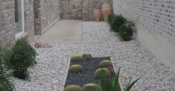 Zero maintenance landscaping with cacti ideas google for Zero maintenance landscaping