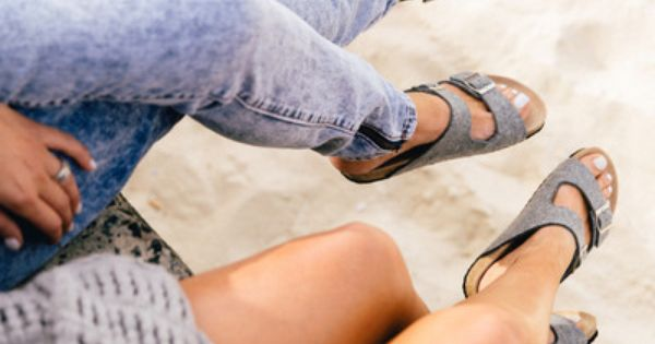 Heel sandals - photo