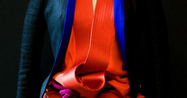Haider Ackermann kimono inspired top