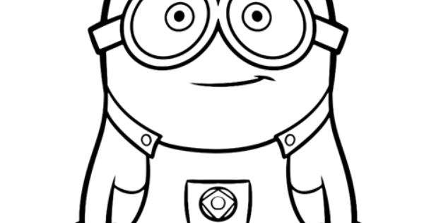 Create Your Own Minion With This Coloring Page Minions