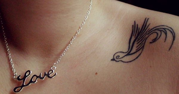 I like the style of the swallow tattoo ink
