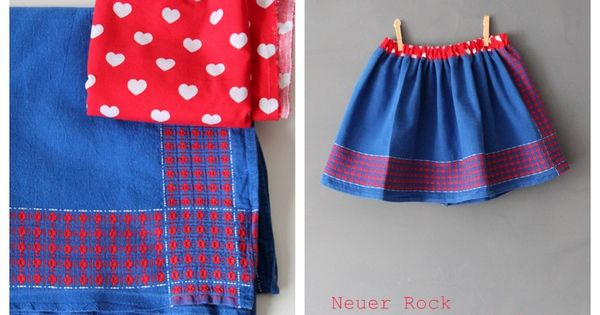 neuer kinderrock aus alter tischdecke upcycling old table cloth to kids skirt tischdecken. Black Bedroom Furniture Sets. Home Design Ideas