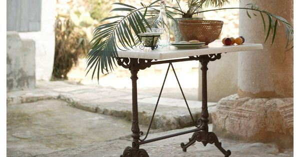 Exterior mesa modelo monaco forja artesanal mobiliario - Mobiliario de forja ...