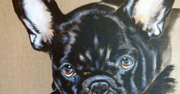 bouledogue fran ais art animalier chiens pinterest. Black Bedroom Furniture Sets. Home Design Ideas