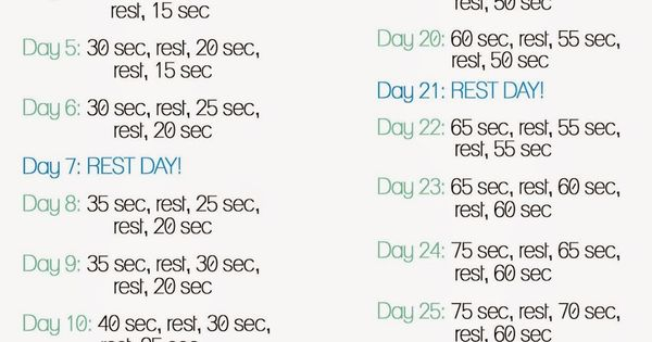 30 Day Plank Challenge - For Beginners!