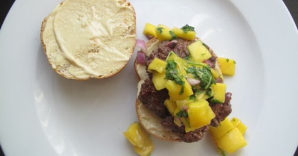 Burgers, Spices and Mango on Pinterest