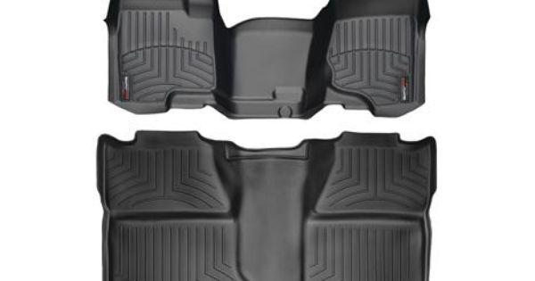 2013 Chevrolet Silverado Weathertech Floorliner Car Floor Mats Liner Floor Tray Prote Chevy Silverado Accessories Silverado Accessories Silverado Crew Cab