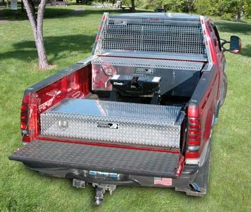 5th Wheelers Need Storage Take A Look At These Truck Tool Boxes Truck Tools Camper Awnings Truck Tool Box