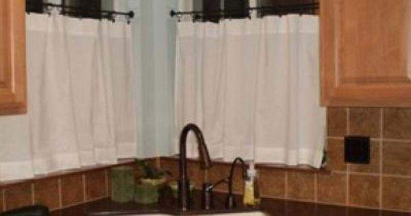 Pottery Barn Inspired Cafe Curtains Curtains Kitchen Pinterest Cafe Curtains Pottery