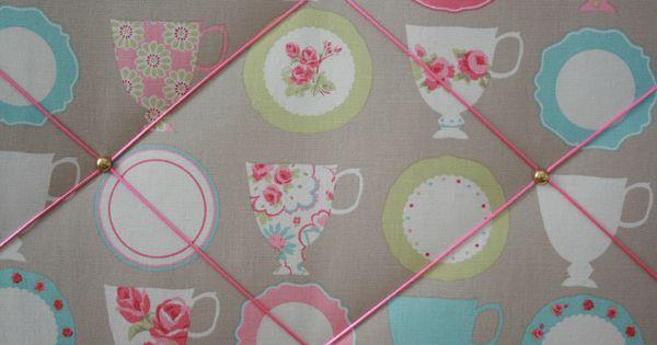 P le m le tissu cuisine rangement d co murale for Decoration murale tissu
