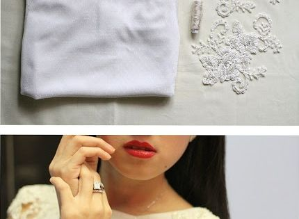 Lace top - DIY