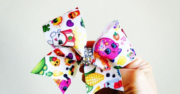 Mini Shopkins Hair Bow Baby Bow Shopkins And Hair Bow