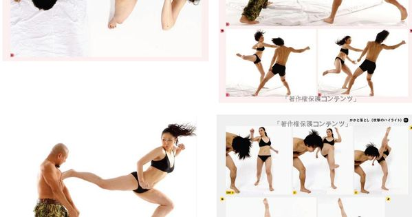 eschergirls: euniko submitted: interesting references Some pretty interesting fighting poses to look
