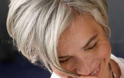Hair Ideas For Short Hair Pinterest: Short Straight Hair For Women Over 60