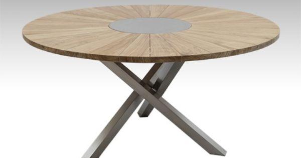 Model De Table Ronde Bara : : Solstice Capacité maximale :8 personnes Description :Table ronde ...