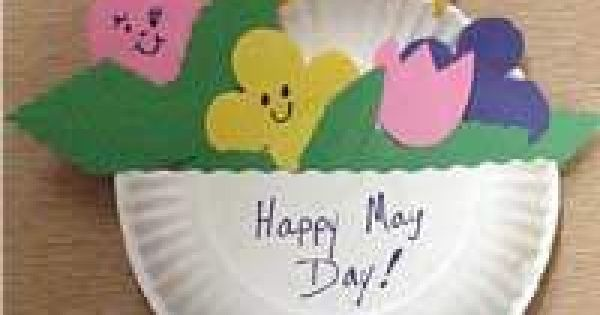 may craft ideas may day flowers crafts may day crafts paper plate may 2398