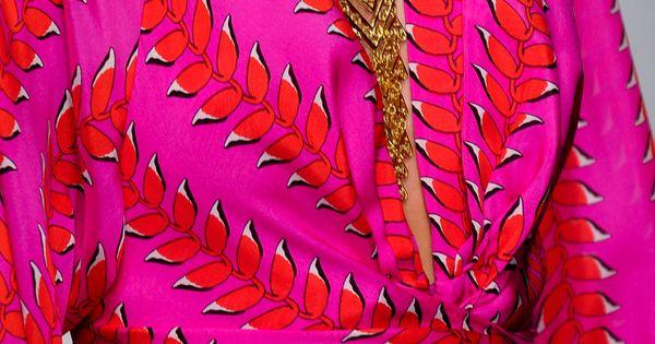 Dream wrap dress | issa london spring 2013 pink