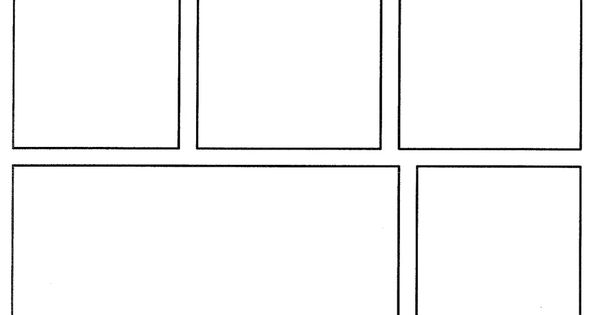 Template For Creating Your Own Comics! Https://www