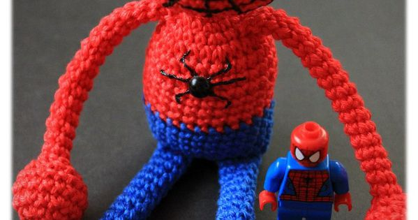 Amigurumi spiderman crochet pattern Amigurumi, Spiderman ...