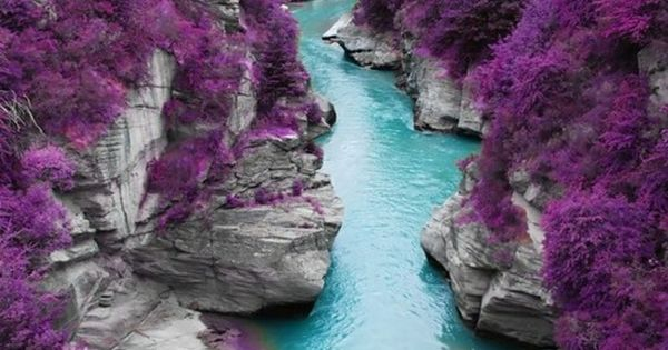 The Fairy Pools, Isle of Skye, Scotland Photoshopped, I know, but a