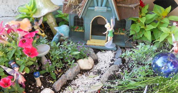 fairy garden. We just got stuff to make Reagan one of these