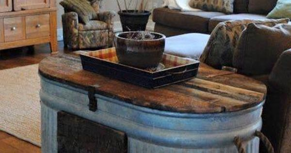 Water Trough Coffee Table Furniture Ideas Pinterest