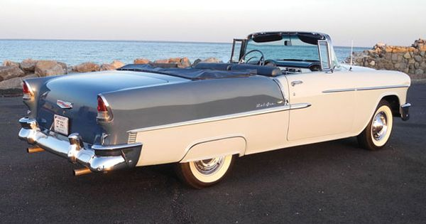 1955 Chevy Bel Air Convertible Like The Fender Skirt Always