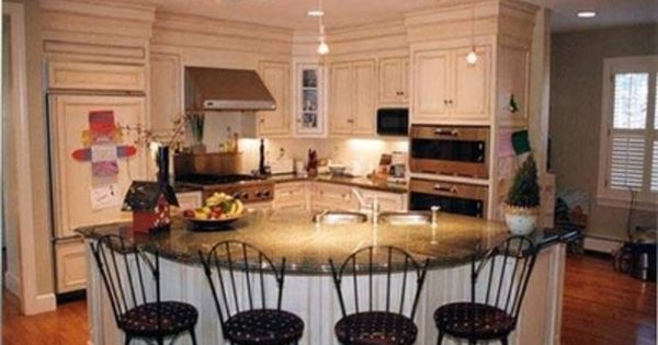 Country kitchen islands with seating french country for Country kitchen islands with seating
