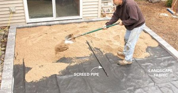How To Cover A Concrete Patio With Pavers Concrete Patio Makeover Paver Patio Patio Stones