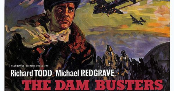 The Dam Busters 2 With Images Movie Posters Vintage Old